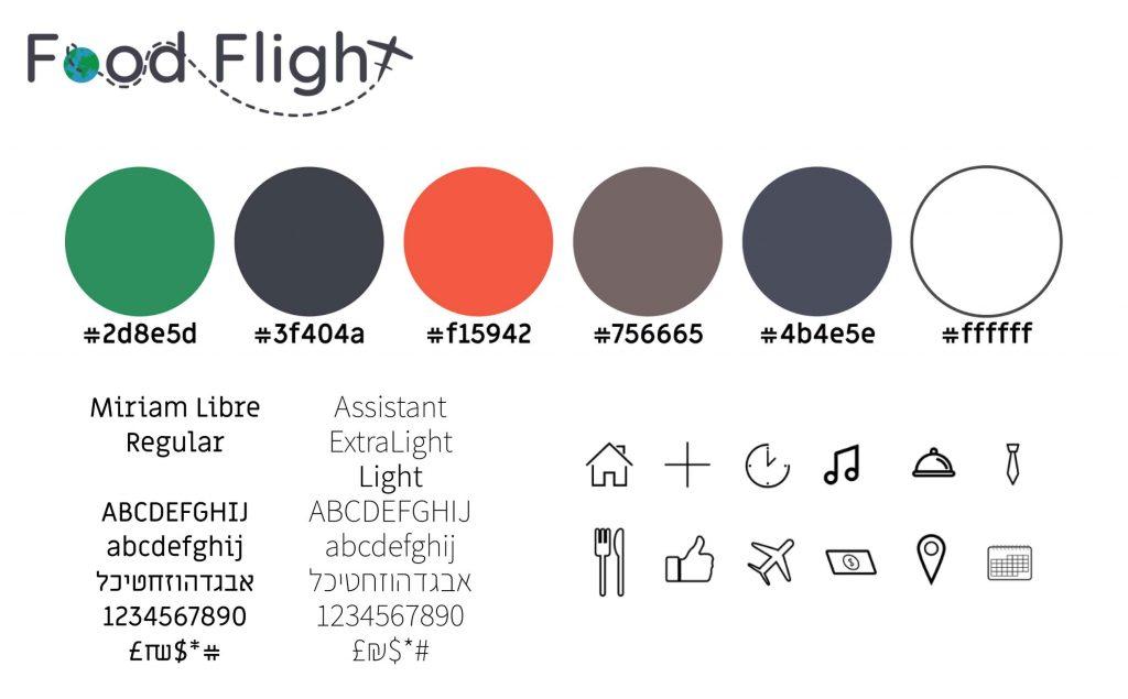 FoodFlight App StyleGuide
