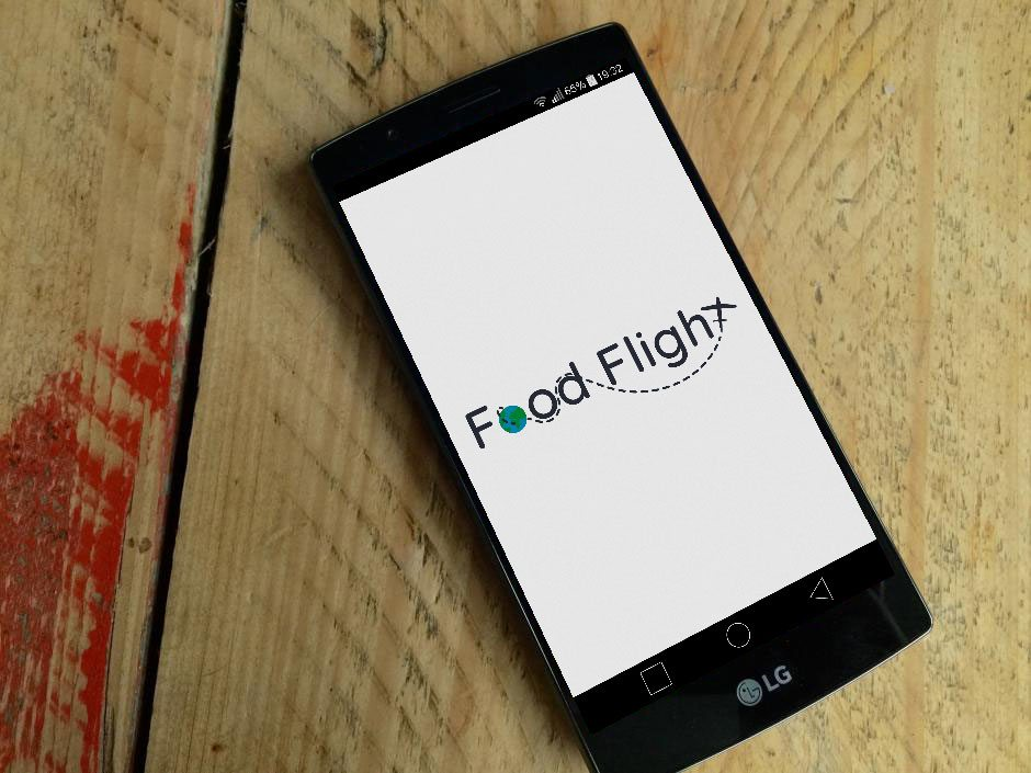 FoodFlight App Splash Screen