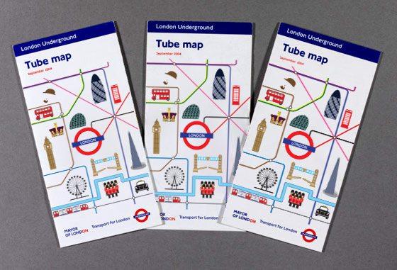 London tube map design