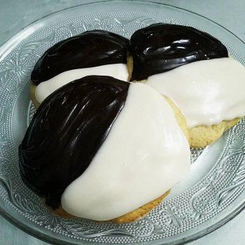 התפוח הגדול - עוגיות שחור לבן