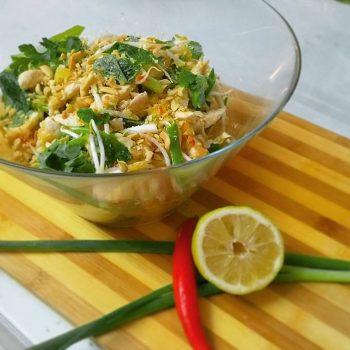 טעימה מווייטנאם - סלט עוף ואננס